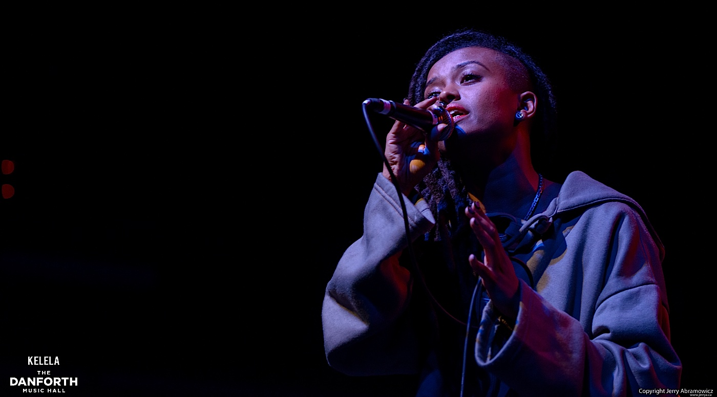 Kelela plays to a packed house at The Danforth Music Hall