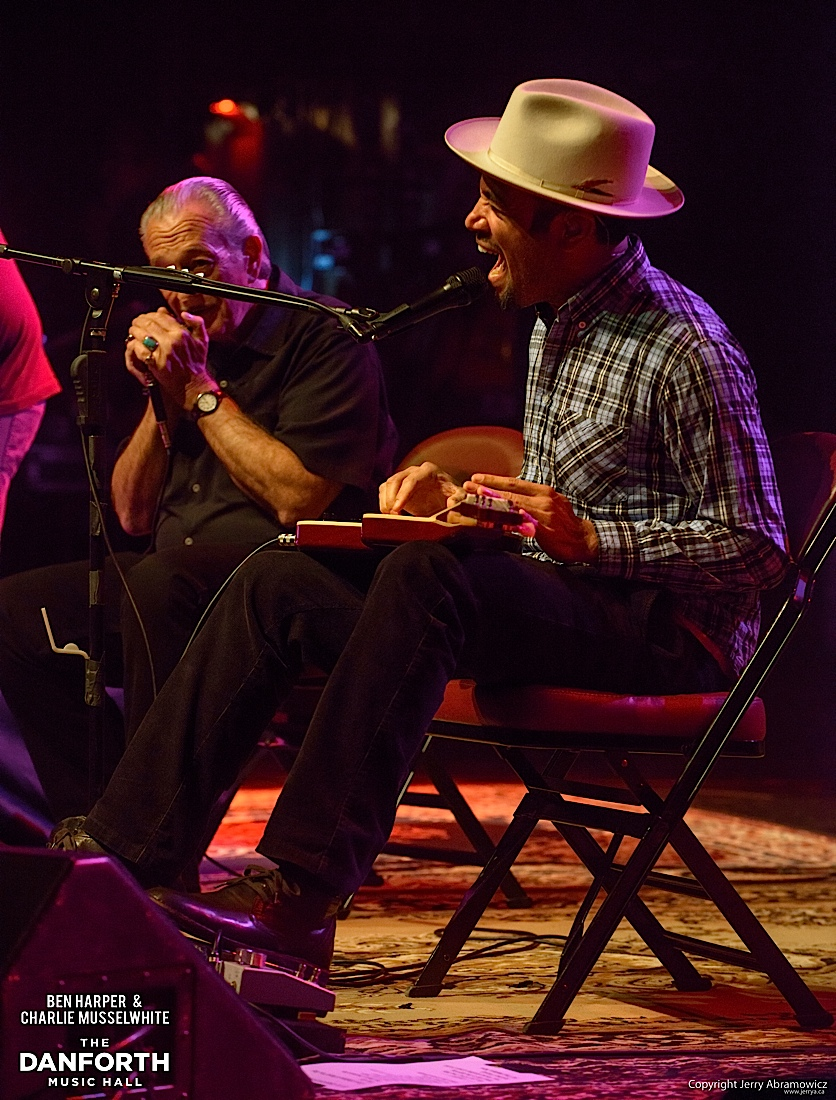20130301 Ben Harper and Charlie Musselwhite at The Danforth Music Hall Toronto 0041