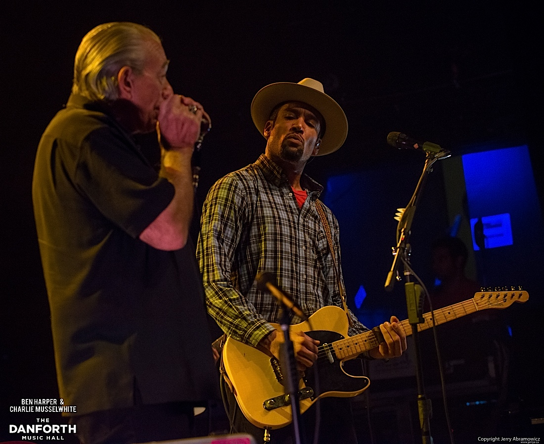 20130301 Ben Harper and Charlie Musselwhite at The Danforth Music Hall Toronto 0161