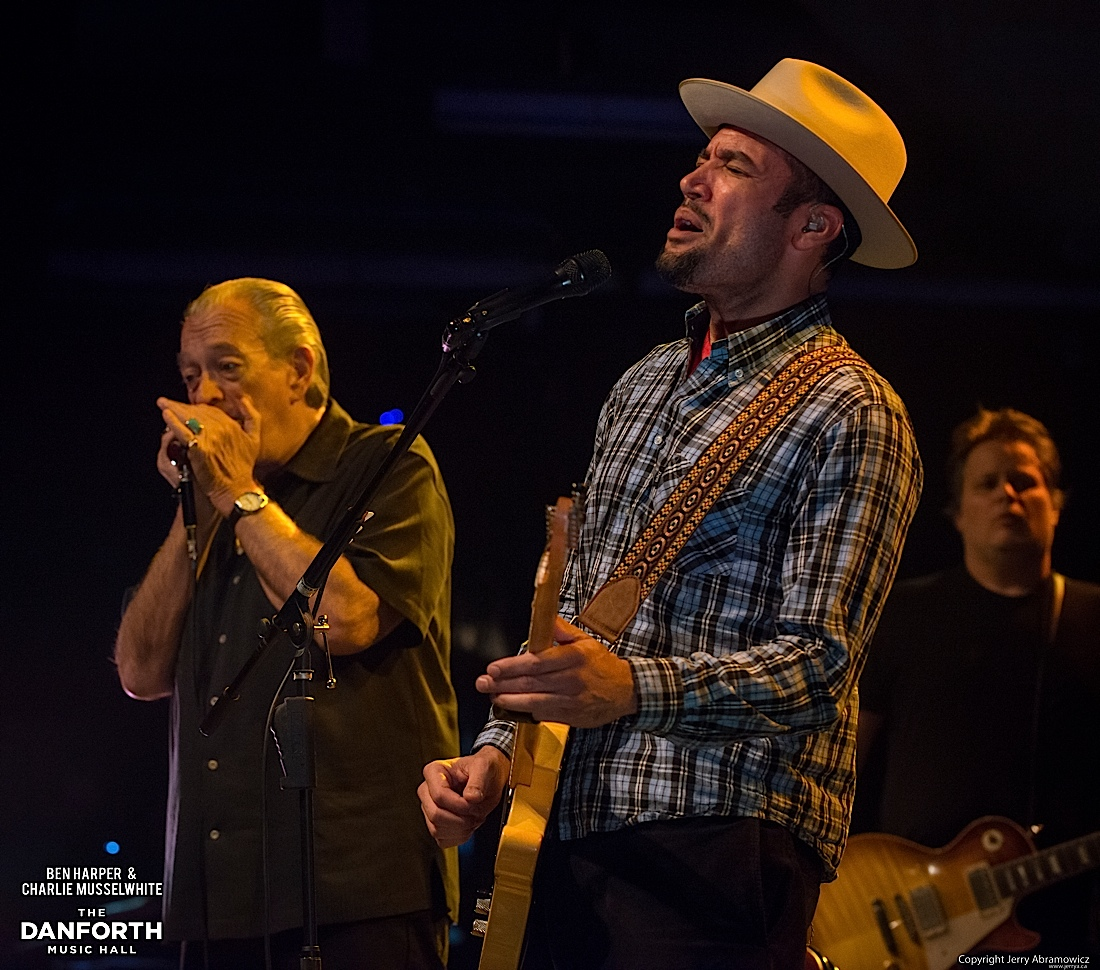 20130301 Ben Harper and Charlie Musselwhite at The Danforth Music Hall Toronto 0180