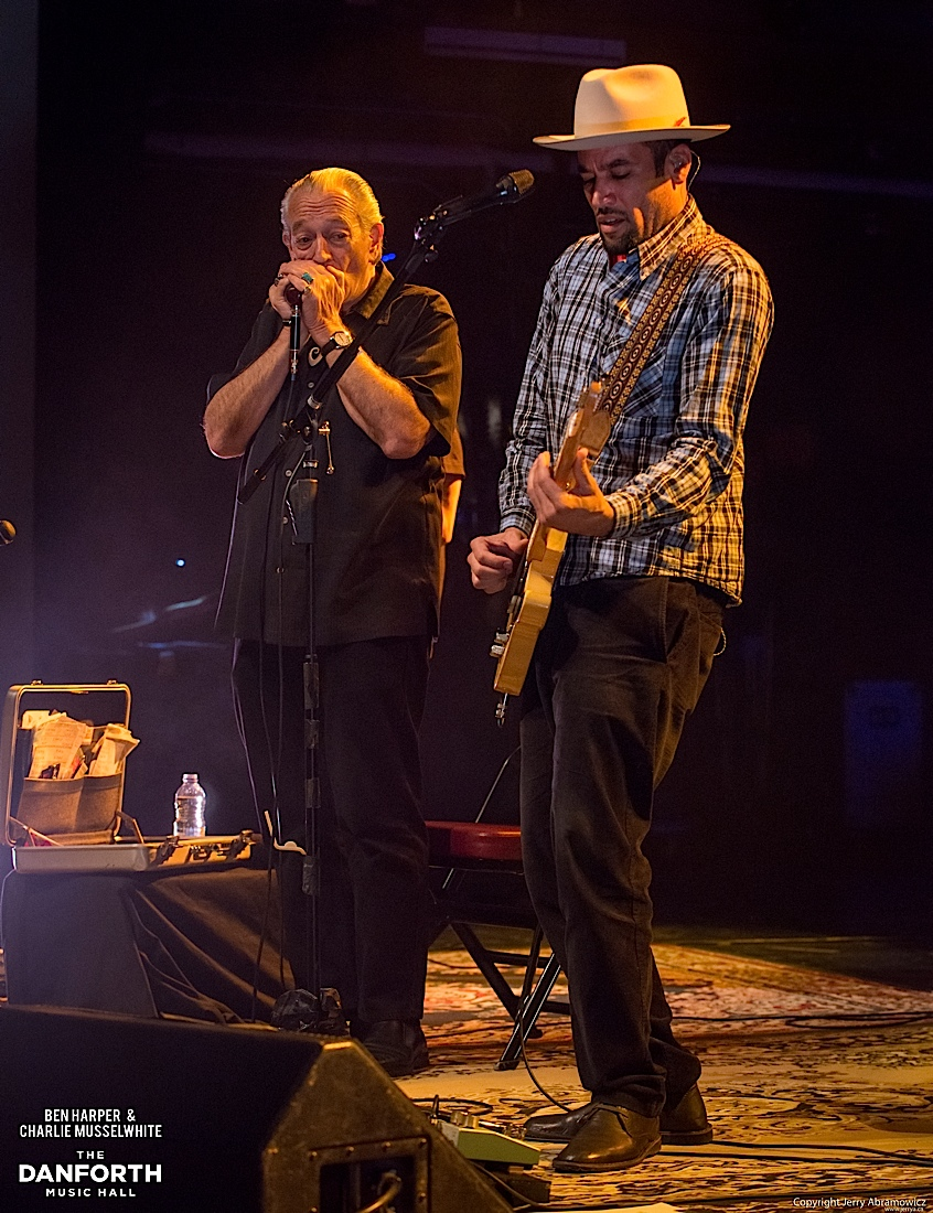 20130301 Ben Harper and Charlie Musselwhite at The Danforth Music Hall Toronto 0208