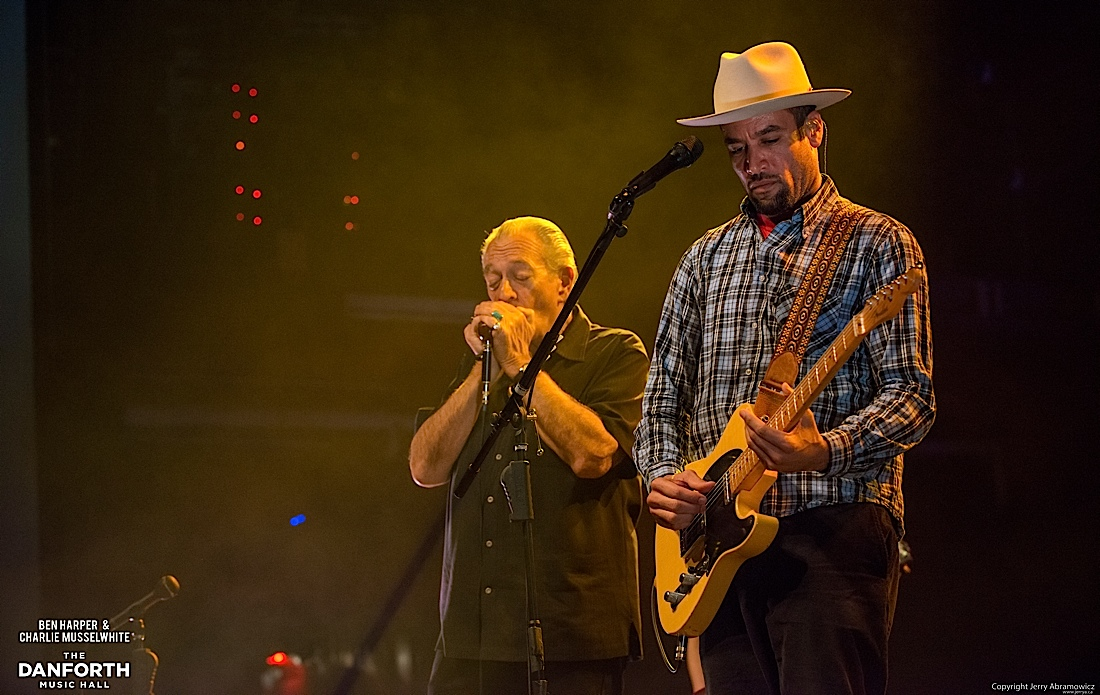 20130301 Ben Harper and Charlie Musselwhite at The Danforth Music Hall Toronto 0260