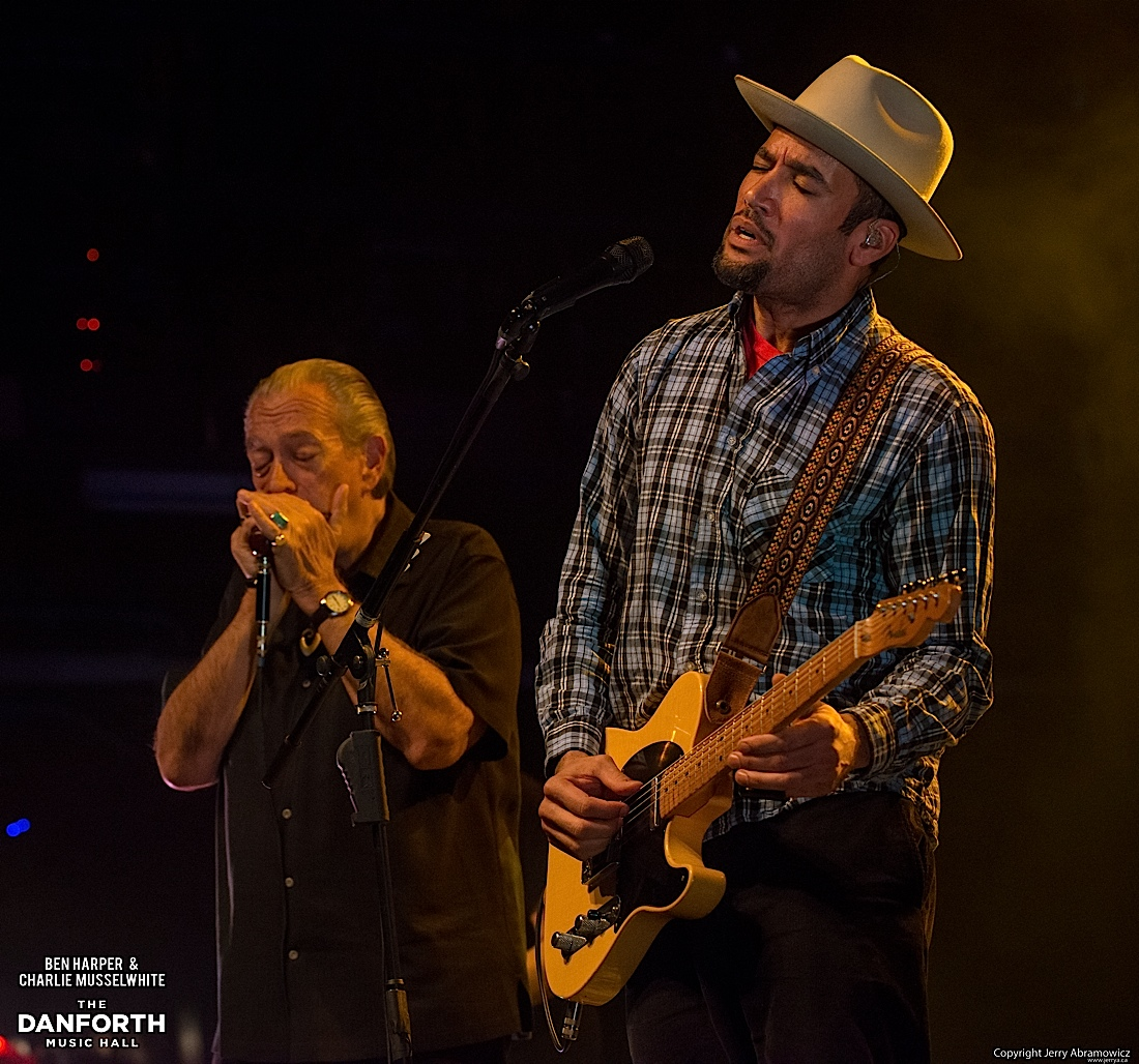 20130301 Ben Harper and Charlie Musselwhite at The Danforth Music Hall Toronto 0263