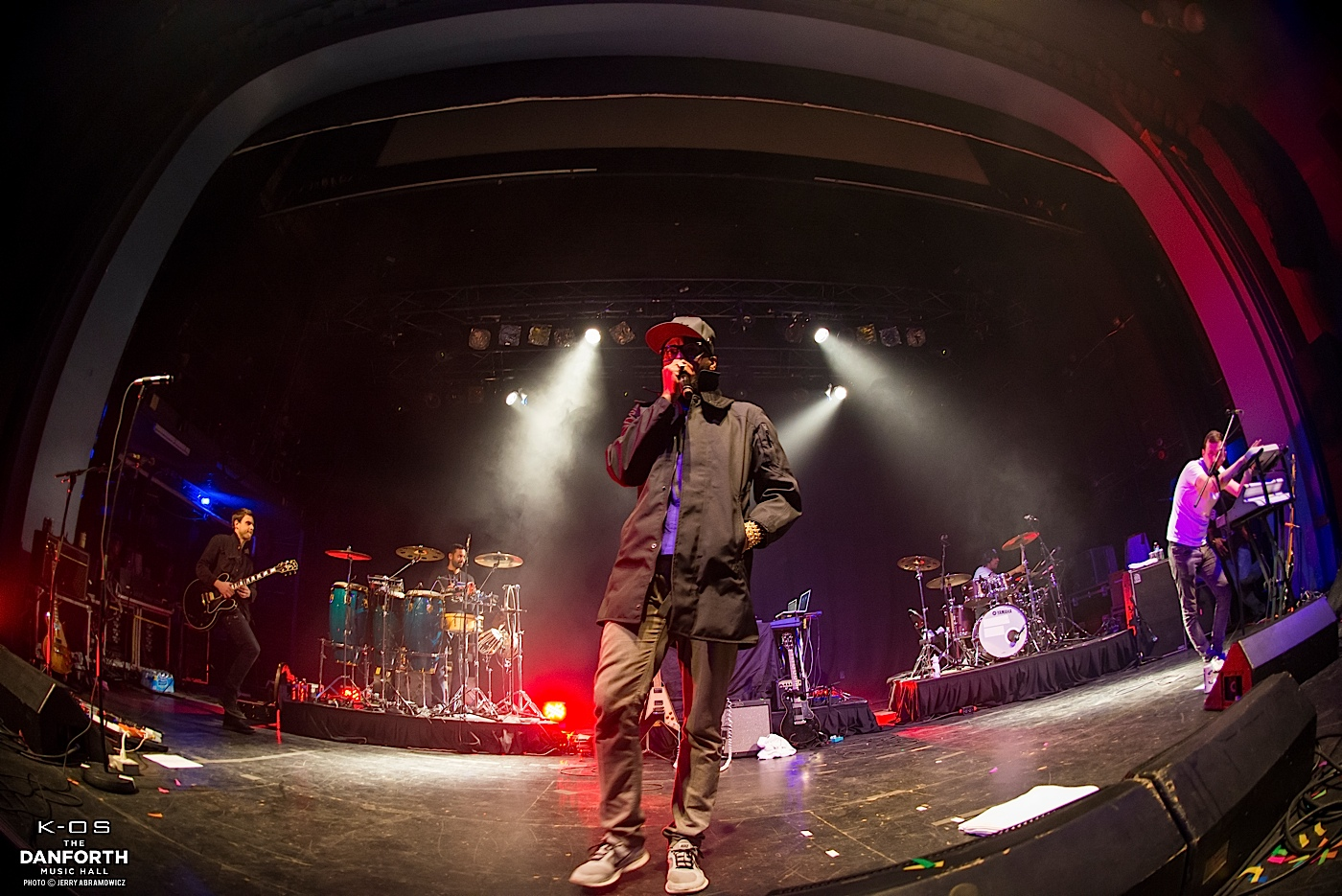 K-OS plays to a packed house at The Danforth Music Hall.