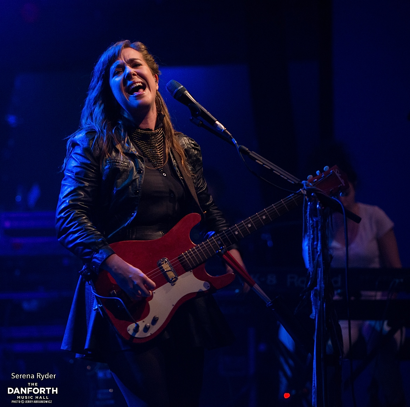 SERENA RYDER plays to a packed house at The Danforth Music Hall.