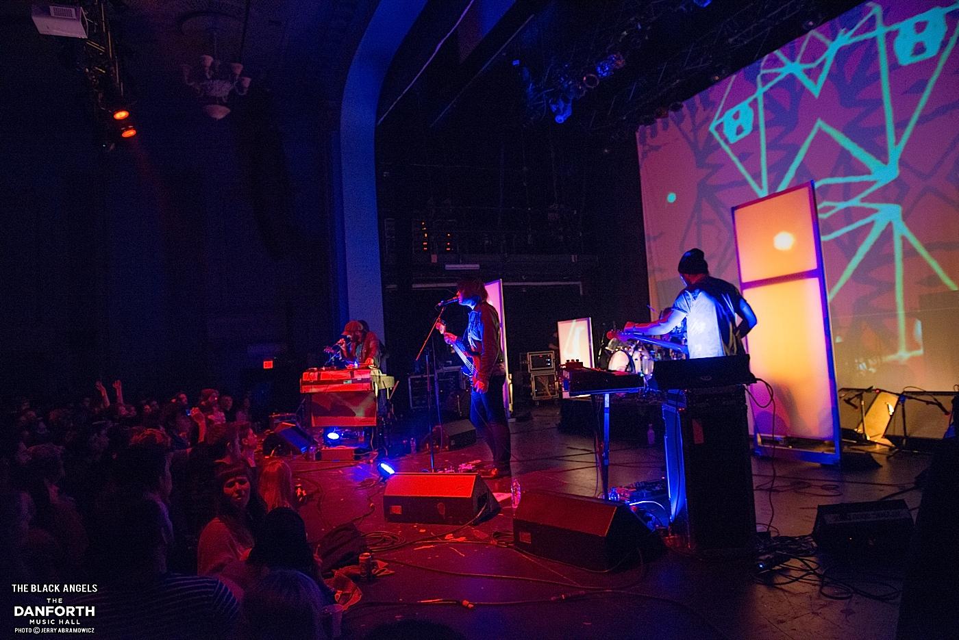 BLACK ANGELS perform at The Danforth Music Hall.