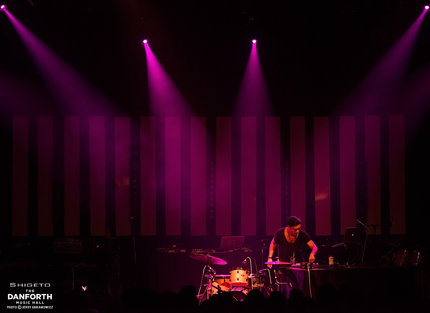 SHIGETO performs at The Danforth Music Hall.