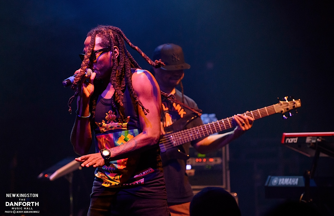 NEW KINGSTON perform at The Danforth Music Hall.