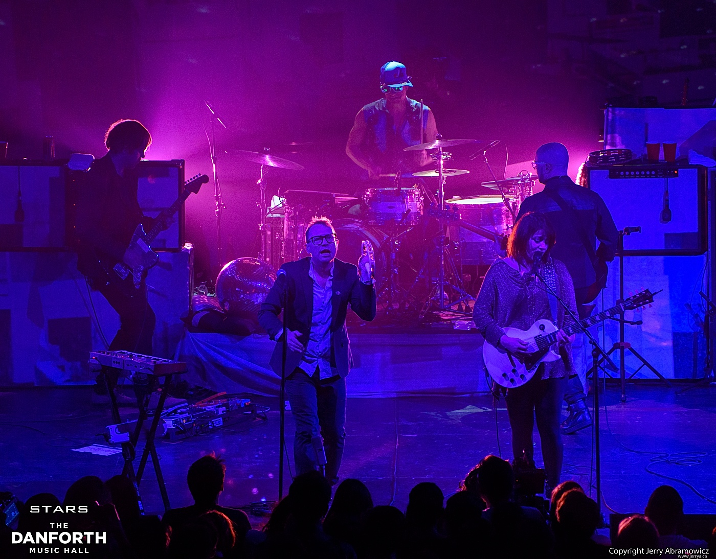STARS  play a sold out show at The Danforth Music Hall.