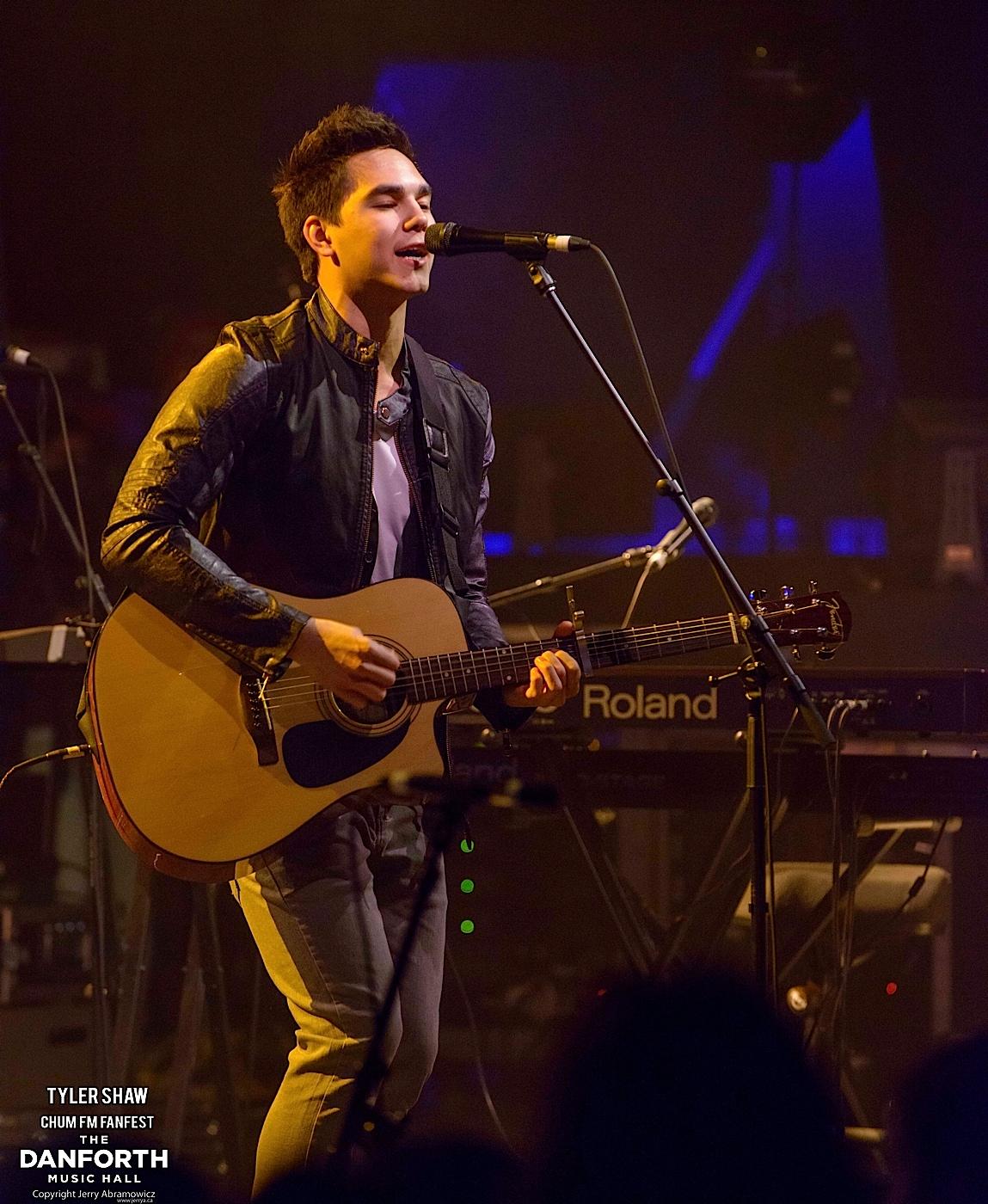 20130322 Tyler Shaw at The Danforth Music Hall Toronto 0165 copy
