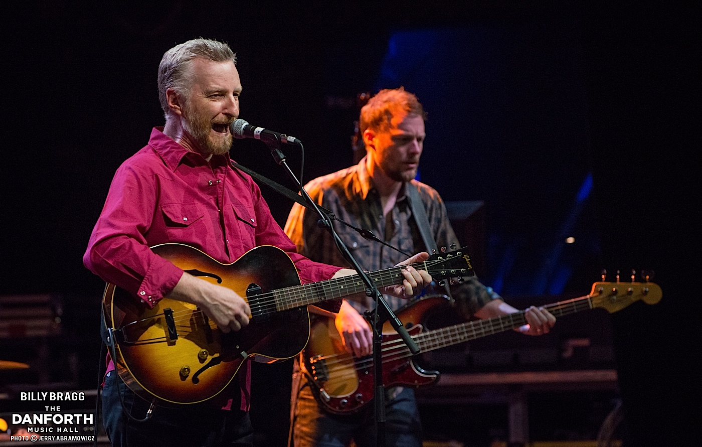 BILLY BRAGG plays a sold out show at The Danforth Music Hall.