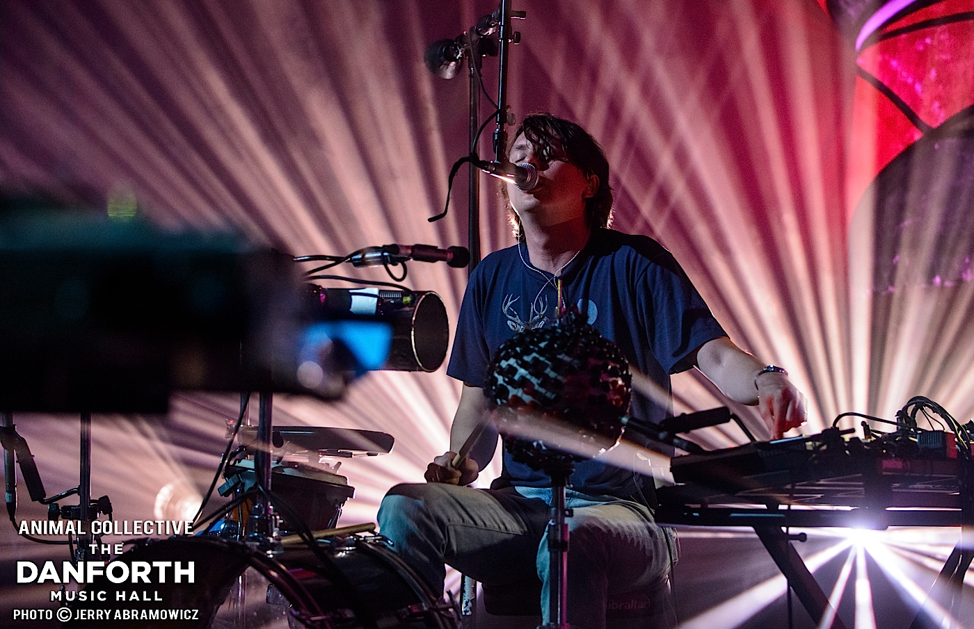 ANIMAL COLLECTIVE play a sold out show at The Danforth Music Hall Toronto.