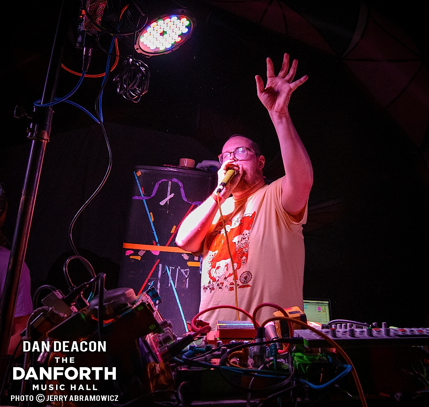 DAN DEACON opens for Animal Collective at The Danforth Music Hall Toronto.