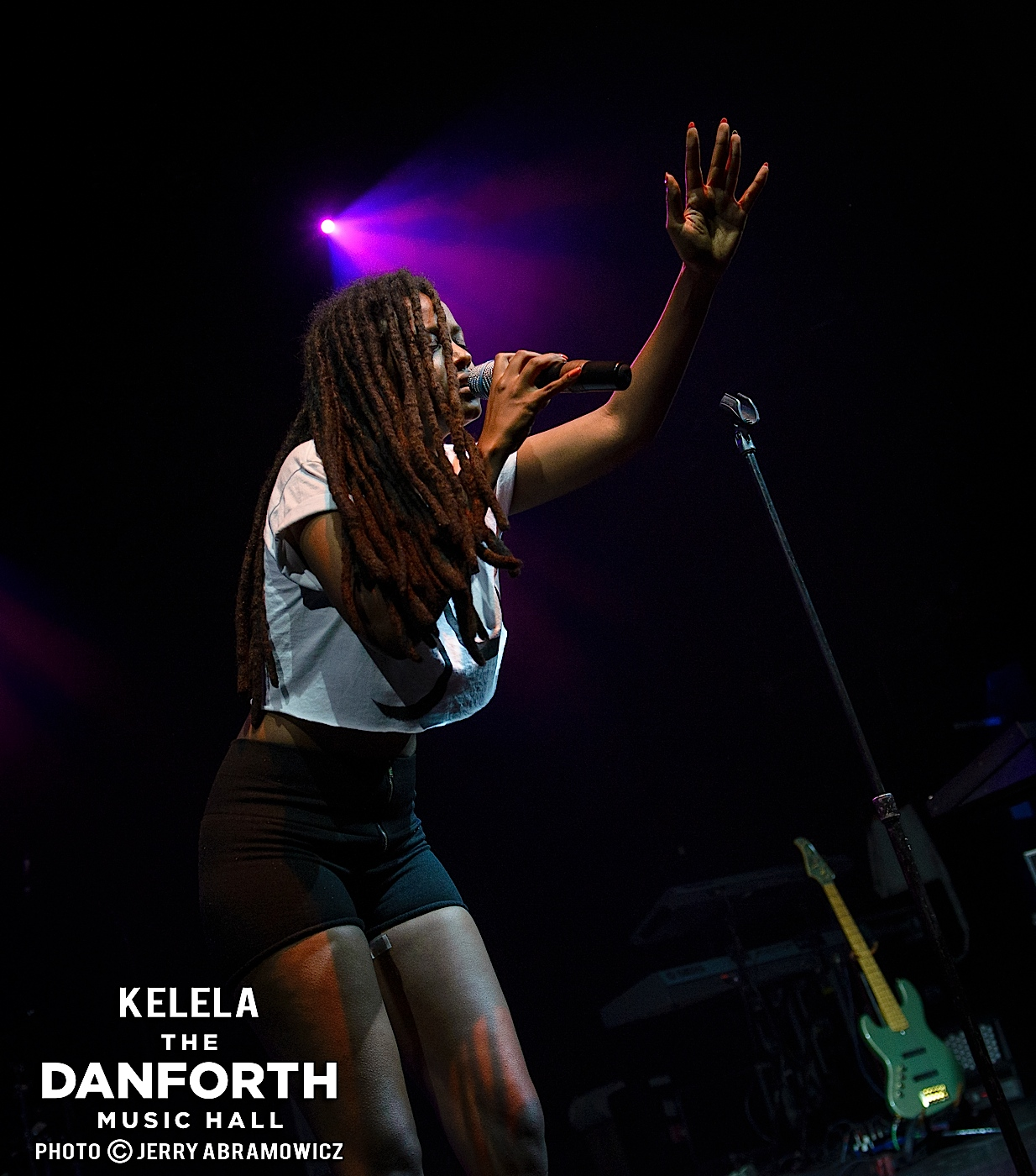 KELELA opens for Solange at The Danforth Music Hall Toronto.