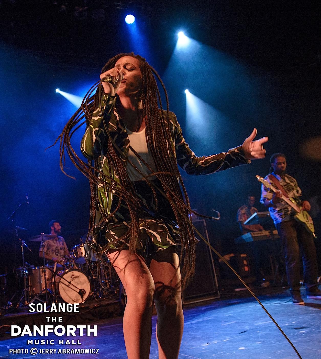 SOLANGE plays at The Danforth Music Hall Toronto.