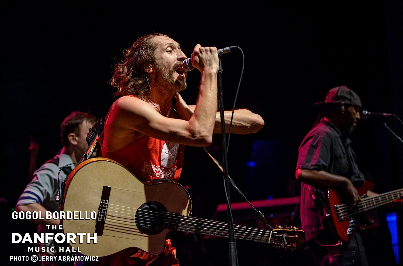 GOGOL BORDELLO plays to a packed house at The Danforth Music Hall Toronto.