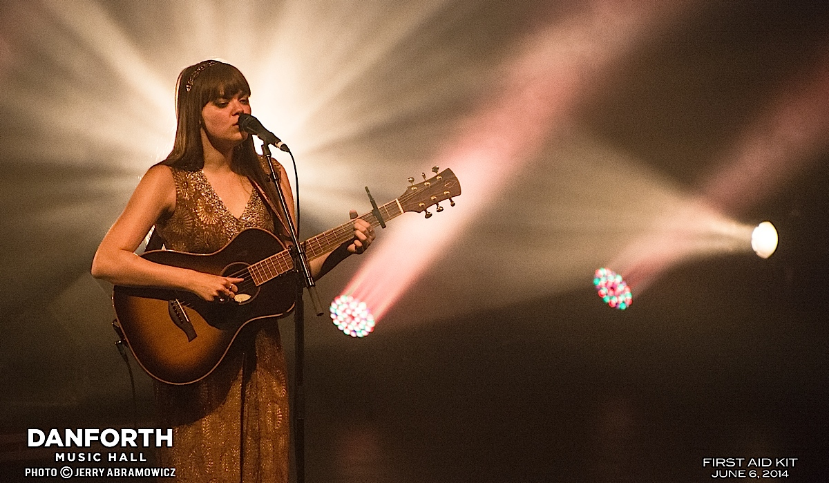 20140606 First Aid Kit at The Danforth Music Hall-548