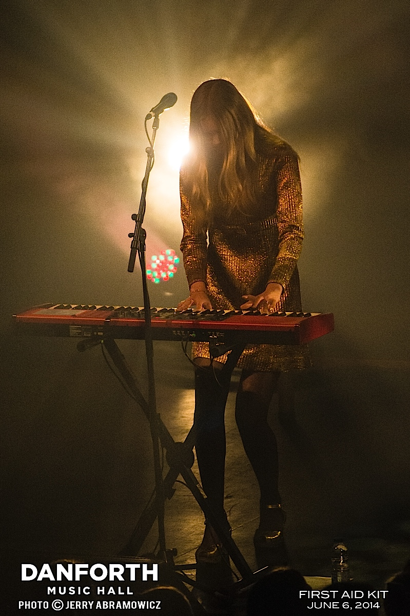 20140606 First Aid Kit at The Danforth Music Hall-600