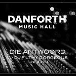 Danforth Music Hall Presents Die Antwoord