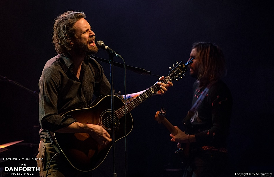 Father John Misty play to a packed house at The Danforth Music Hall