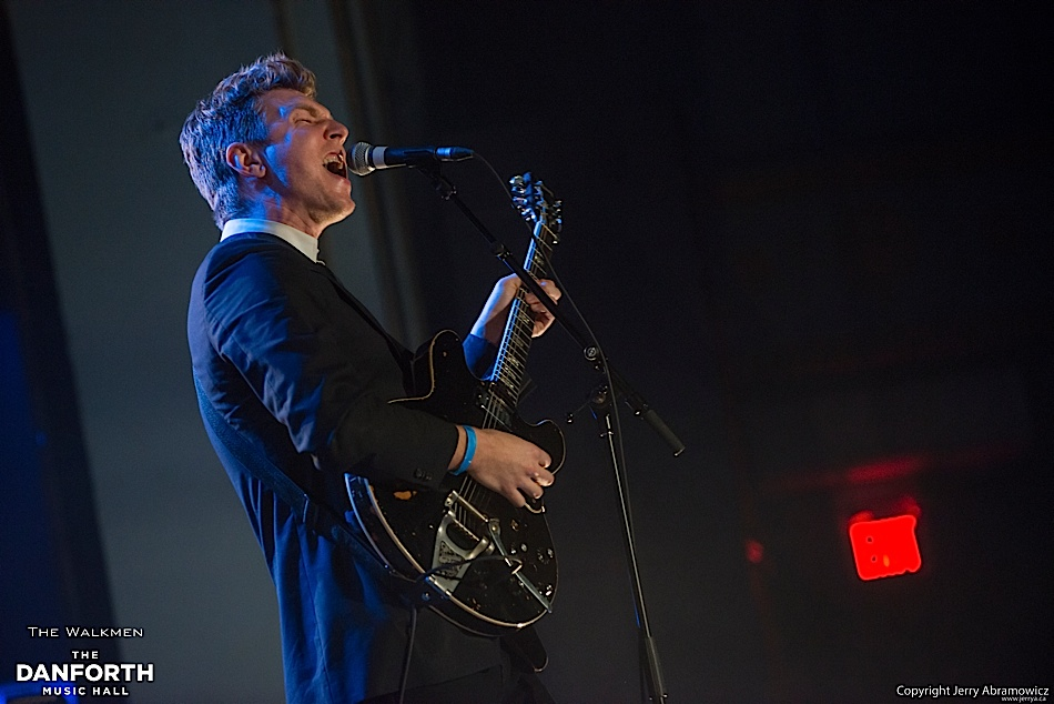 The Walkmen play to a packed house at The Danforth Music Hall