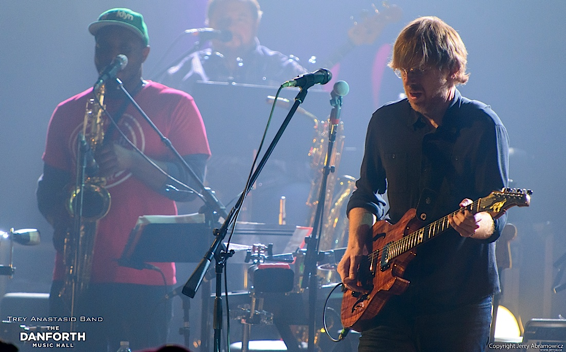 Trey Anastasio Band play to a packed house at The Danforth Music Hall