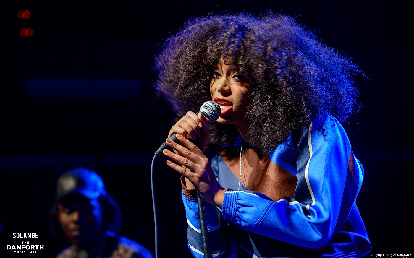 Solange plays to a packed house at The Danforth Music Hall