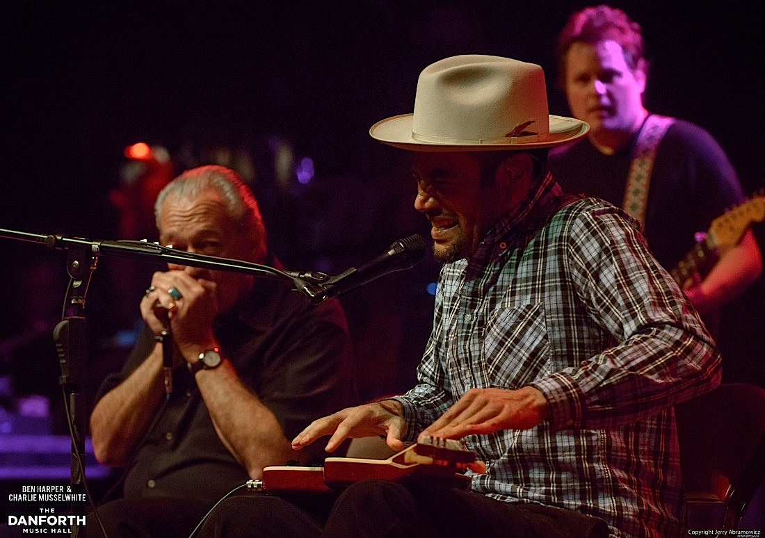 20130301 Ben Harper and Charlie Musselwhite at The Danforth Music Hall Toronto 0095