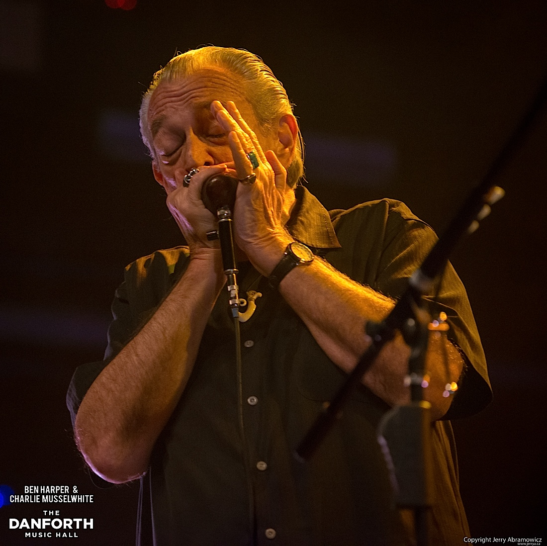20130301 Ben Harper and Charlie Musselwhite at The Danforth Music Hall Toronto 0244