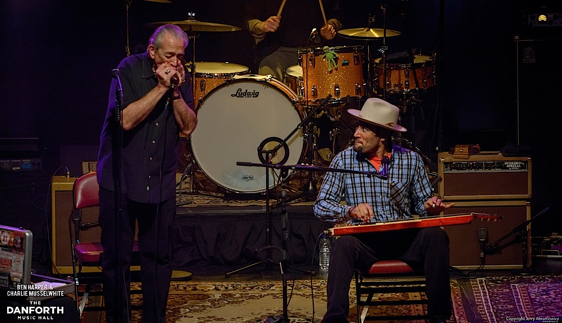 20130301 Ben Harper and Charlie Musselwhite at The Danforth Music Hall Toronto 0403