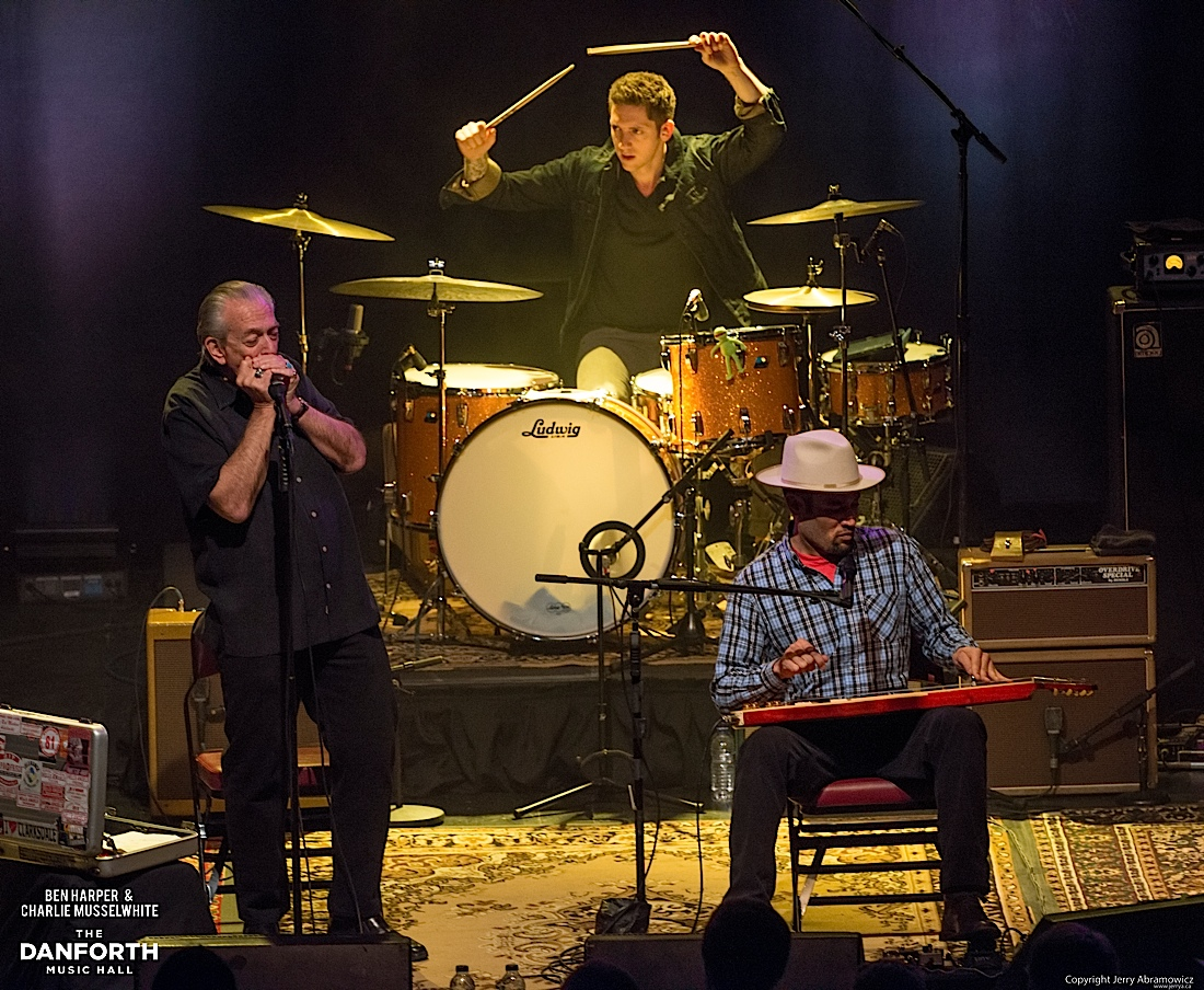 20130301 Ben Harper and Charlie Musselwhite at The Danforth Music Hall Toronto 0413