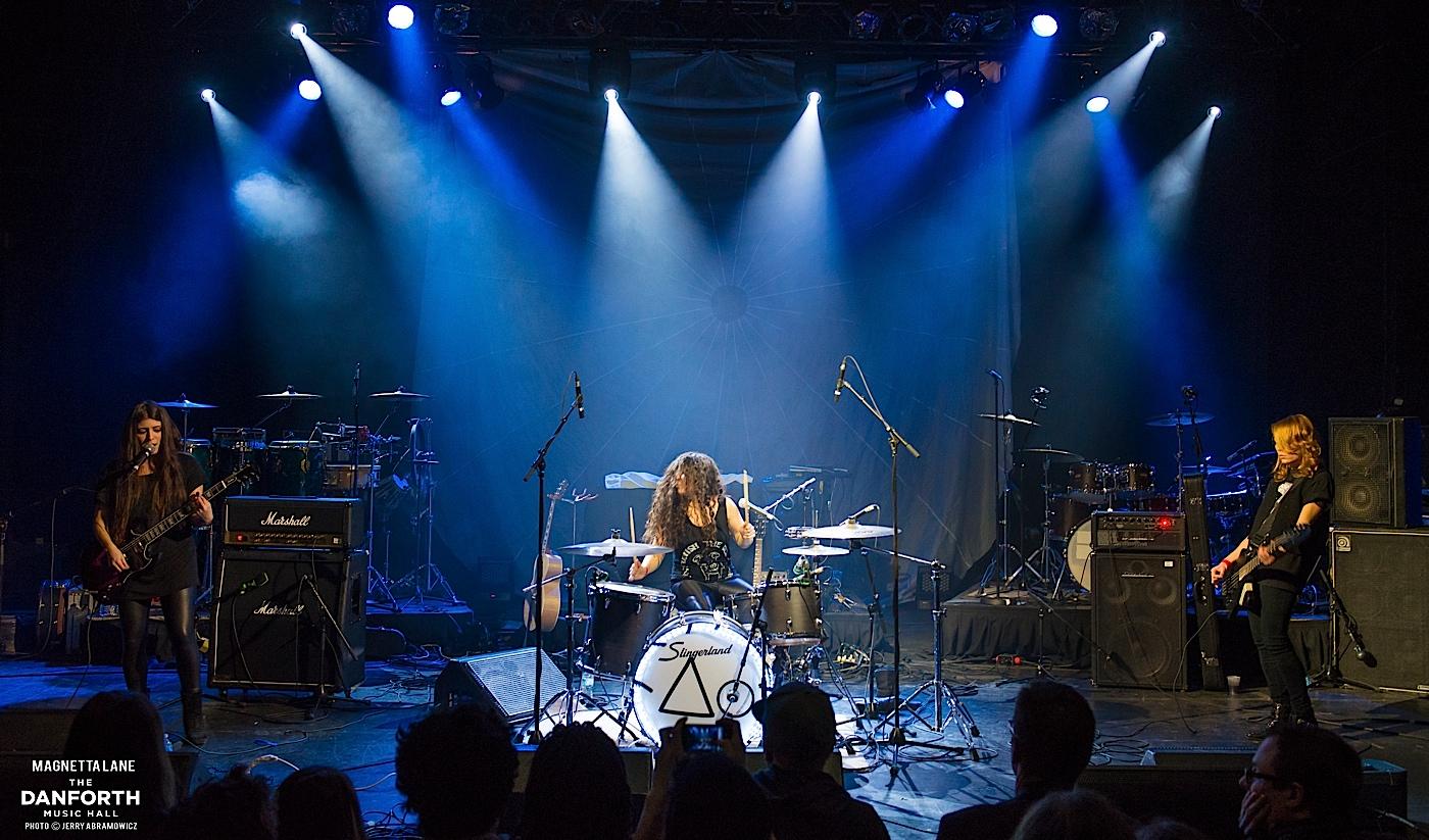MAGNETTA LANE plays at The Danforth Music Hall.