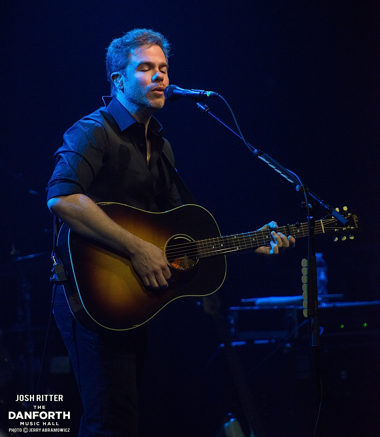 JOSH RITTER performs at The Danforth Music Hall.