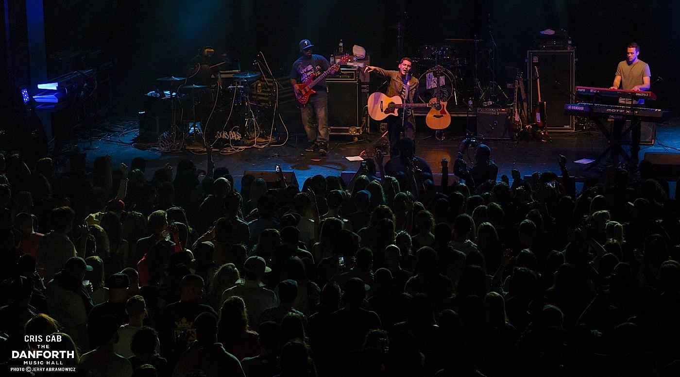 CRIS CAB performs at The Danforth Music Hall.