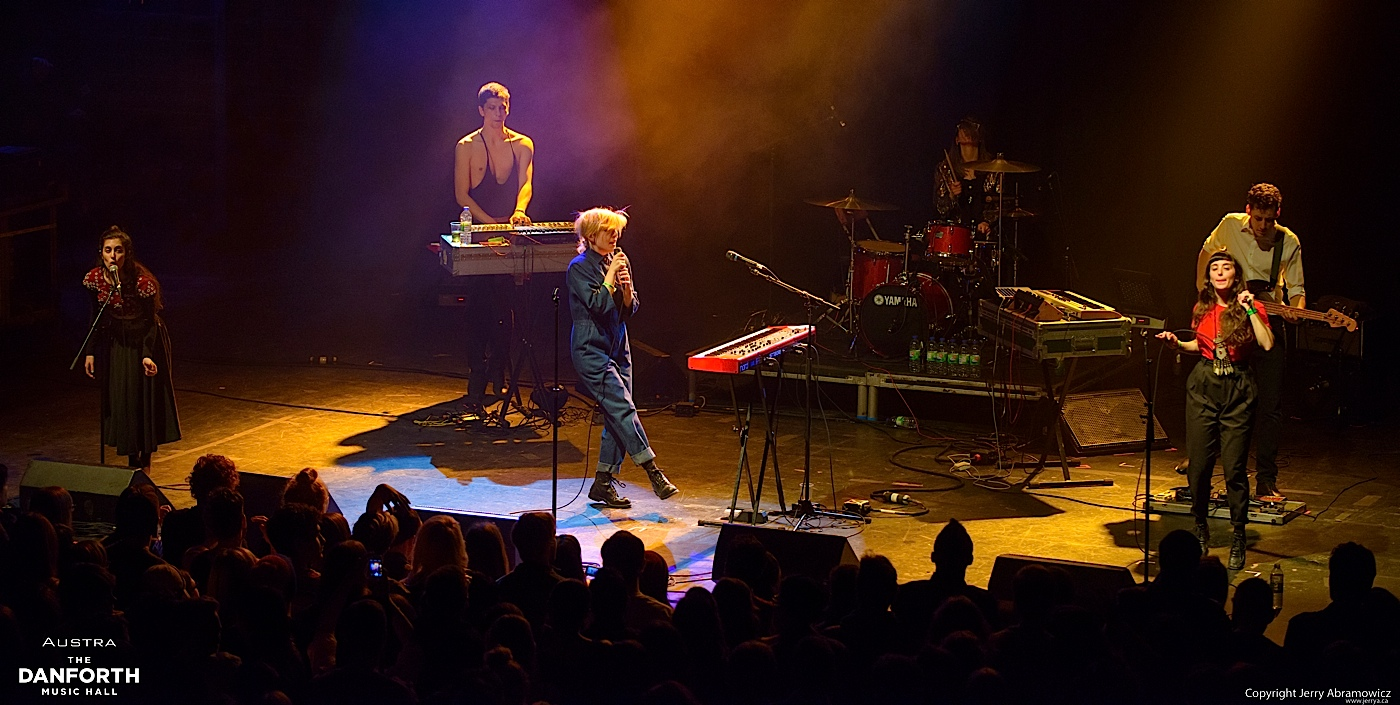 AUSTRA plays to a packed house at The Danforth Music Hall.
