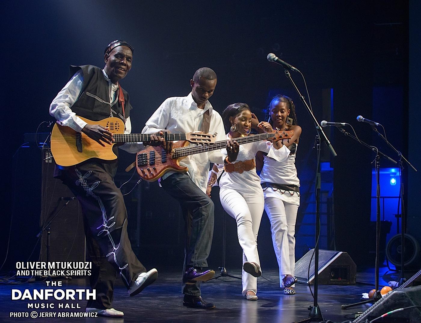 OLIVER MTUKUDZI and the Black Spirits  at The Danforth Music Hall Toronto.