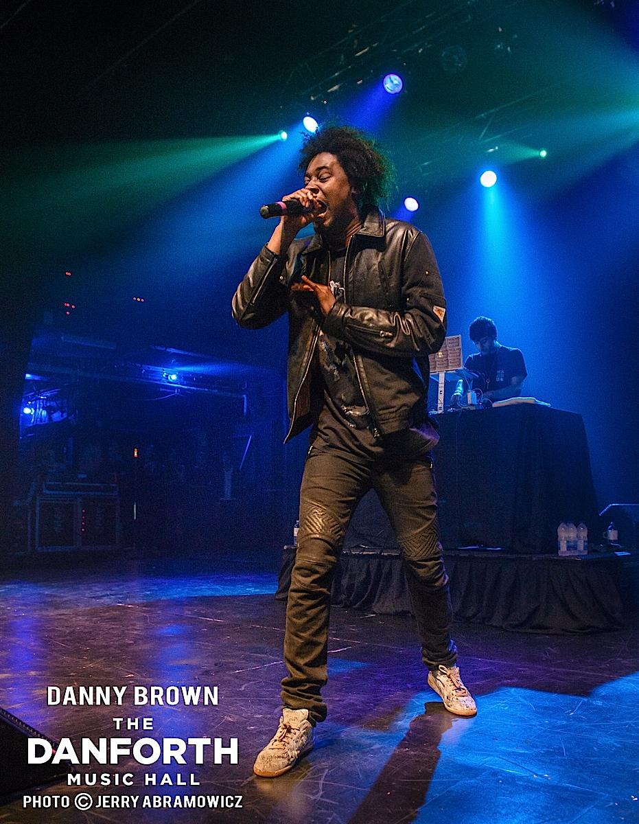 20131001 Danny Brown at The Danforth Music Hall Toronto 0057