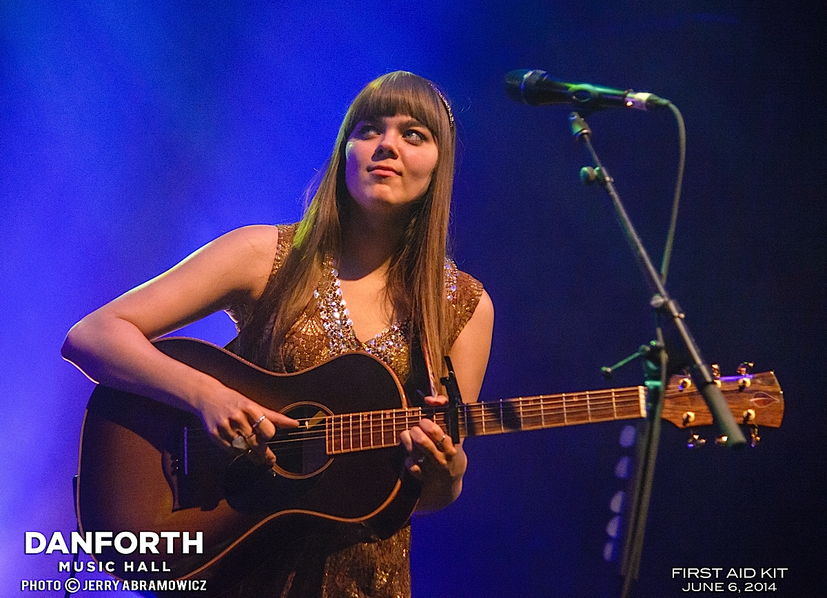 20140606 First Aid Kit at The Danforth Music Hall-179