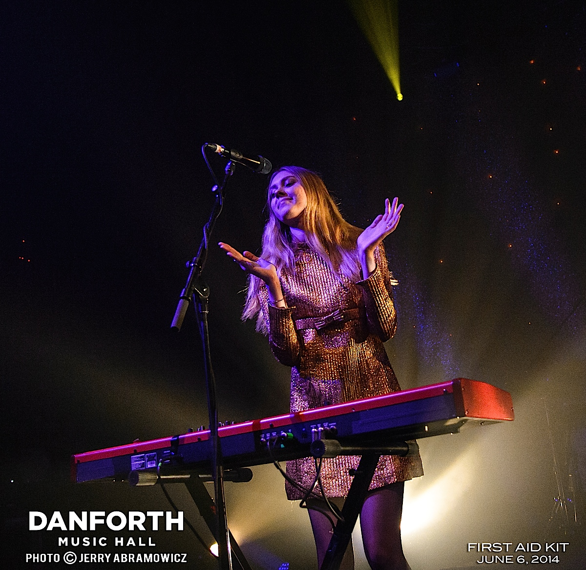 20140606 First Aid Kit at The Danforth Music Hall-305